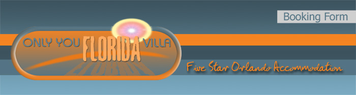 Onlyyouflorida logo Stunning 5 star accommodation.
